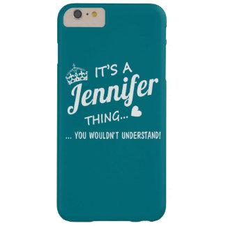 Es una cosa de Jennifer Funda Para iPhone 6 Plus Barely There