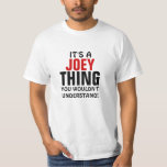 Es una cosa de Joey que usted no entendería Poleras
