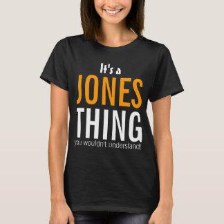 Es una cosa de Jones que usted no entendería Playera