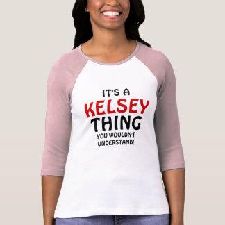 Es una cosa de Kelsey que usted no entendería Polera