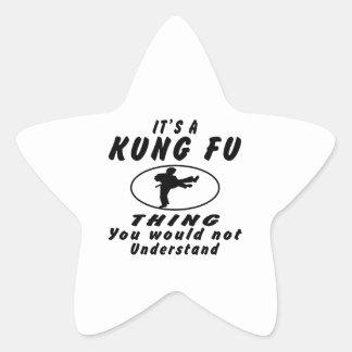 Es una cosa de Kung Fu que usted no entendería Etiqueta