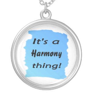 ¡Es una cosa de la armonía! Colgante Redondo