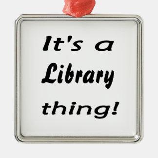 ¡Es una cosa de la biblioteca! Ornaments Para Arbol De Navidad