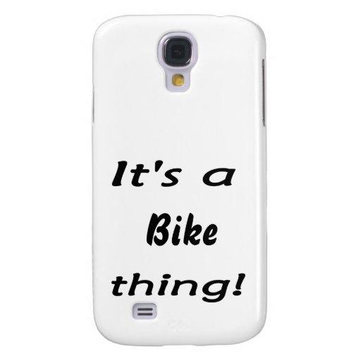 ¡Es una cosa de la bici!