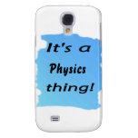 ¡Es una cosa de la física!