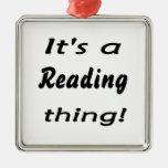 ¡Es una cosa de la lectura! Ornaments Para Arbol De Navidad