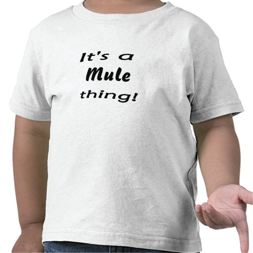 ¡Es una cosa de la mula! Camisetas