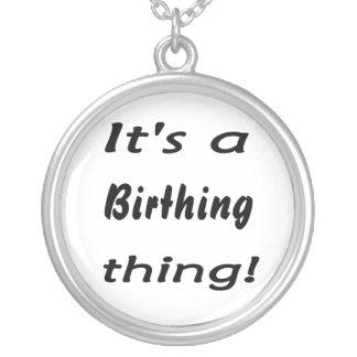 ¡Es una cosa de la natalidad! Colgante Redondo