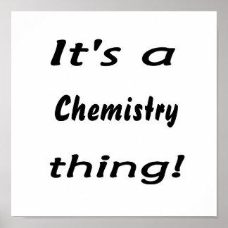 ¡Es una cosa de la química! Diseño de la actitud d Impresiones