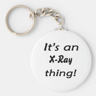 ¡Es una cosa de la radiografía! ¡Es una cosa del r Llavero Redondo Tipo Pin