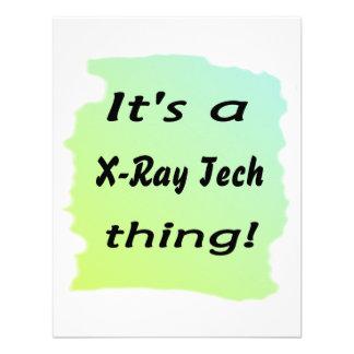 Es una cosa de la tecnología de la radiografía invitacion personal