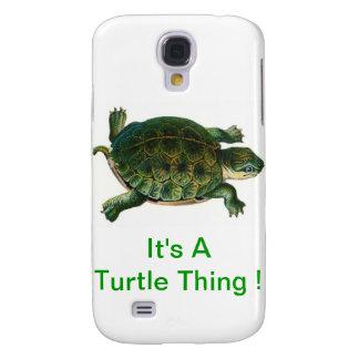 Es una cosa de la tortuga