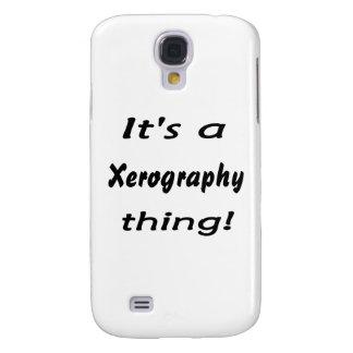 ¡Es una cosa de la xerografía! Funda Para Galaxy S4