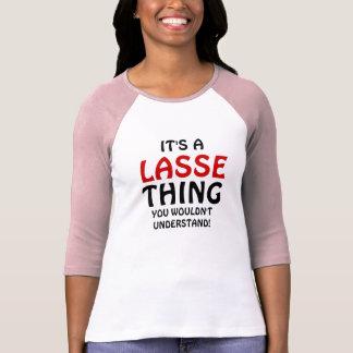 Es una cosa de Lasse que usted no entendería Poleras