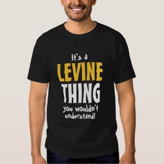 Es una cosa de Levine que usted no entendería Playeras