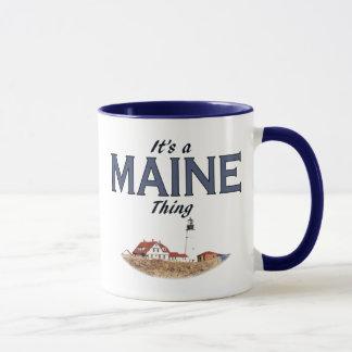 Es una cosa de Maine - luz principal de Portland