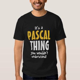 Es una cosa de Pascal que usted no entendería Remera