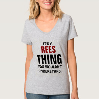 Es una cosa de Rees que usted no entendería Playera