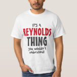 Es una cosa de Reynolds que usted no entendería Playera