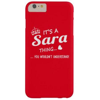 Es una cosa de SARA Funda De iPhone 6 Plus Barely There