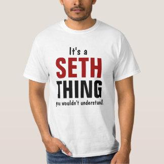 Es una cosa de Seth que usted no entendería Remera