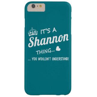 Es una cosa de SHANNON Funda De iPhone 6 Plus Barely There