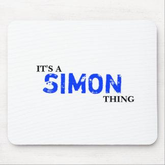 ¡Es una cosa de SIMON! Usted no entendería Alfombrilla De Ratones