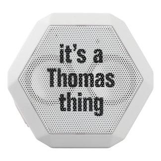 es una cosa de Thomas Altavoces Bluetooth Blancos Boombot REX