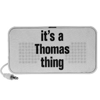 es una cosa de Thomas Laptop Altavoces