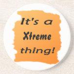 ¡es una cosa de Xtreme! Posavasos Para Bebidas