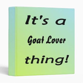 """¡Es una cosa del amante de la cabra! Carpeta 1"""""""