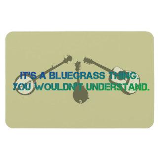 Es una cosa del Bluegrass. Usted no entendería Iman