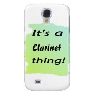 ¡Es una cosa del clarinet