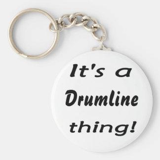 ¡Es una cosa del drumline! Llavero Redondo Tipo Pin