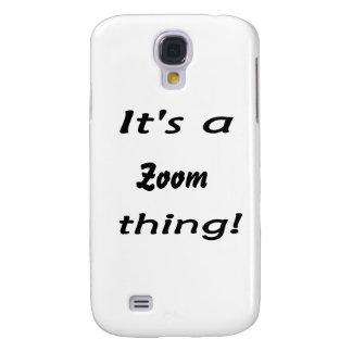 ¡Es una cosa del enfoque! Funda Para Galaxy S4