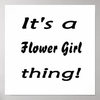 ¡Es una cosa del florista! Impresiones