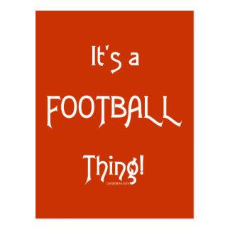 ¡Es una cosa del fútbol! Postales