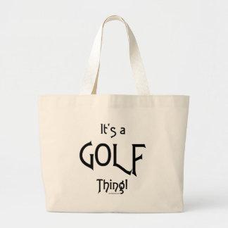 ¡Es una cosa del golf! Bolsas