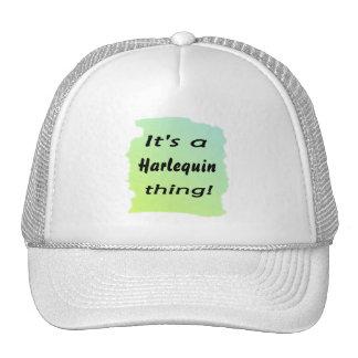 Es una cosa del Harlequin Gorras