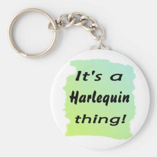 Es una cosa del Harlequin Llaveros Personalizados