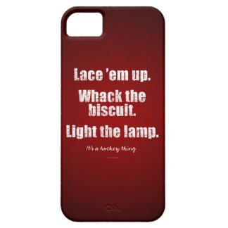 Es una cosa del hockey iPhone 5 Case-Mate protectores