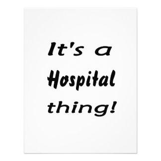 ¡Es una cosa del hospital Invitación