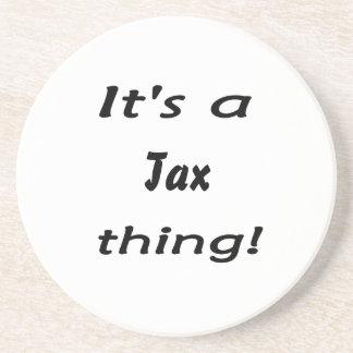 ¡Es una cosa del impuesto! Posavasos Manualidades