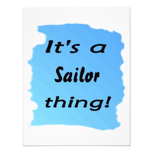 ¡Es una cosa del marinero! Anuncios Personalizados