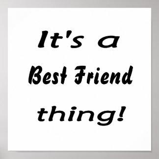 ¡Es una cosa del mejor amigo! Impresiones