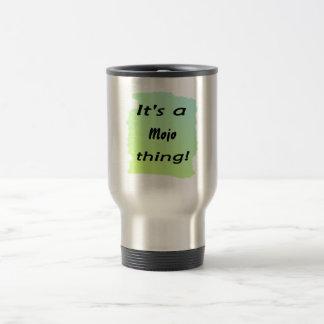 ¡Es una cosa del mojo! Tazas De Café