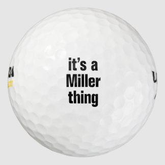 es una cosa del molinero pack de pelotas de golf