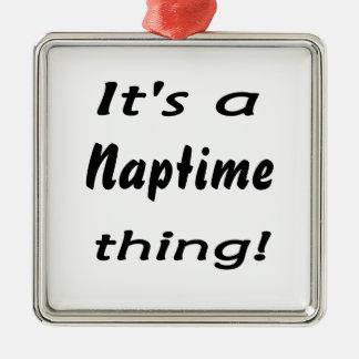 ¡Es una cosa del naptime! Ornamentos De Navidad