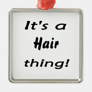 ¡Es una cosa del pelo! Ornamento De Reyes Magos