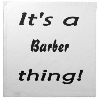 ¡Es una cosa del peluquero Servilletas De Papel